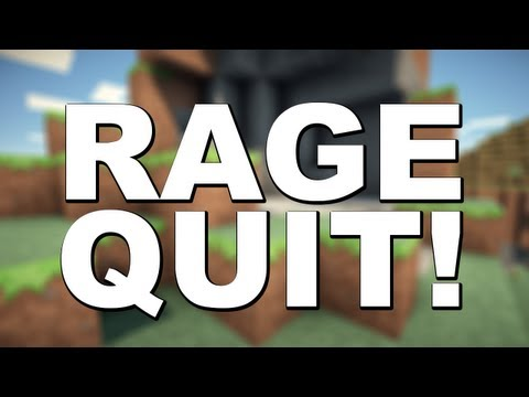 Minecraft Bukkit Plugins - Rage Quit v1.1 review! (My plugin!)