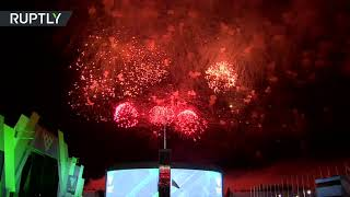 International Army Games conclude with fireworks display in closing ceremony - RUSSIATODAY