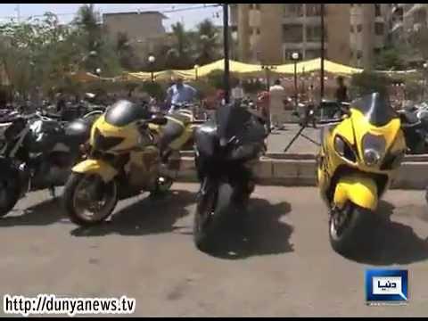 Dunya News - Karachi holds classic and modern motorbikes, heavy bikes show