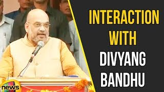 Amit Shah Interaction with Divyang Bandhu in Kuwada, Rajasthan | Amit Shah Latest Speech | MangoNews - MANGONEWS