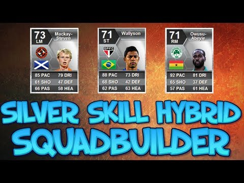 Silver Skill Hybrid ft. 5, 5* Skillers | FIFA 13