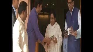 RLD leader Jayant Chaudhary meets BSP supremo Mayawati - ABPNEWSTV