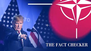 President Trump still doesn't understand NATO funding | Fact Checker - WASHINGTONPOST