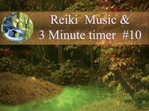 Reiki Music with 3 Minutes Bell; Reiki Timer: Tibetan bowl Meditation Music; Healing Music 💜
