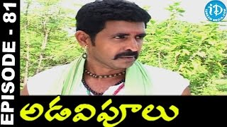 Adavipoolu || Episode 81 || Telugu Daily Serial - IDREAMMOVIES