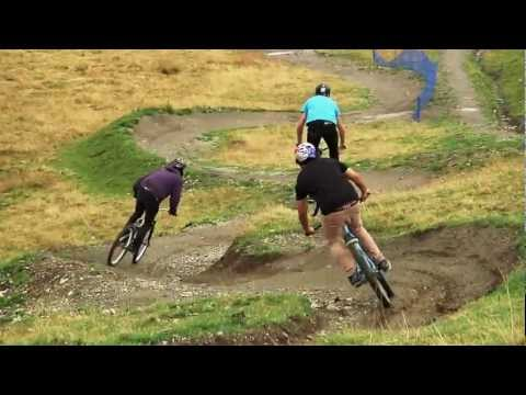 Pilgrim, Granieri and Reynolds riding in Livigno Bikepark