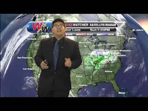 Sunday, January 25th, 2015 Afternoon Forecast
