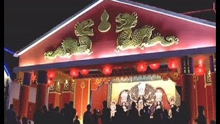 Yunnan province themed Durga puja pandal made in collaboration with Chinese Consulate - TIMESOFINDIACHANNEL