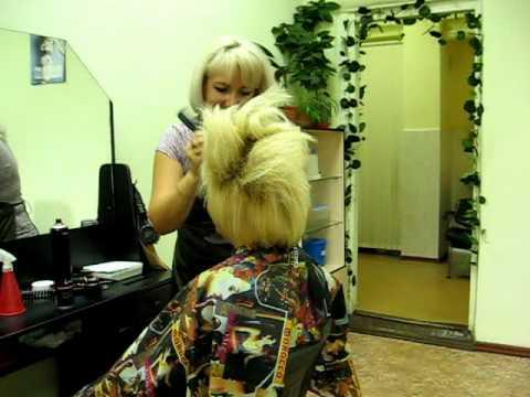 Мастер класс по укладкам на короткие волосы
