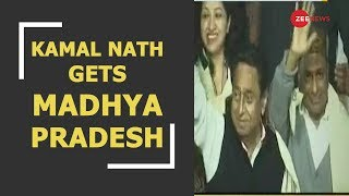 Watch: Madhya Pradesh gets Kamal Nath as Chief Minister - ZEENEWS