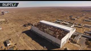 Panoramic Baikonur flyby: Take an exclusive bird's-eye view tour of the cosmodrome in Kazakhstan - RUSSIATODAY