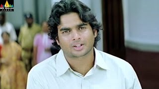 Priyasakhi Movie Madhavan and Sada Court Scene   Telugu Movie Scenes   Sri Balaji Video - SRIBALAJIMOVIES