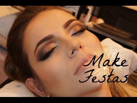 Maquiagem para Festas #1 | Olhos pequenos e Pálpebra gordinha