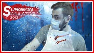 Surgeon Simulator 2013 — ПЕРЕСАДКА ПОЧЕК И МОЗГА [2]