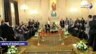 بالفيديو.. البابا تواضروس: فرحة العيد تبدأ بـ'السيسي'.. ولا يمكن التمييز بين المسلم والمسيحى