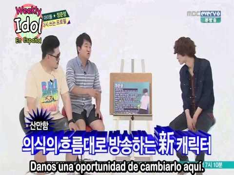 [Sub Español] 140716 Weekly Idol Jung Joon Young