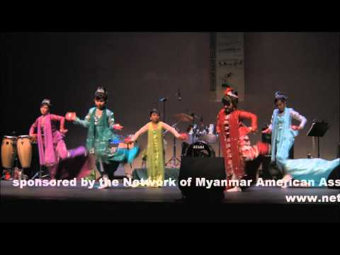 Myanmar Candle Light Dance (Si Mee Kwet Aka)