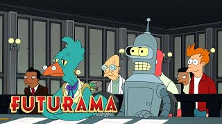 FUTURAMA | Season 9, Episode 9: Innocent Robot | SYFY - SYFY
