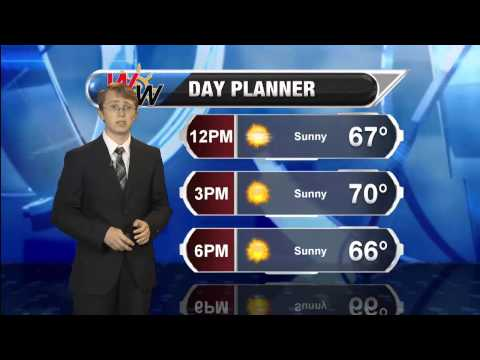 Monday September 22, 2014 AM Forecast