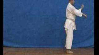 Karate shotokan - kata jion - YouTube