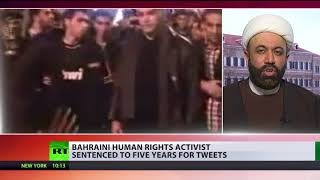 5 years in jail for tweets: Bahrain sentences top rights activist Nabeel Rajab - RUSSIATODAY