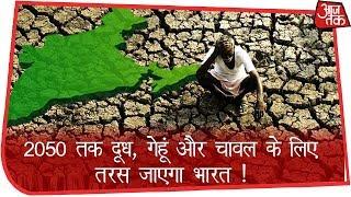 2050 तक दूध, गेहूं और चावल के लिए तरस जाएगा भारत ! - AAJTAKTV