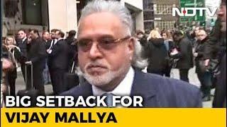 Vijay Mallya Asked To Pay 200,000 Pounds To Indian Banks By UK Court - NDTV