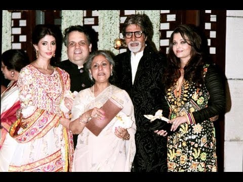 The Bachchan's Party With Nita And Mukesh Ambani