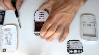 Nokia Asha 200 Disassembly / ????????????????