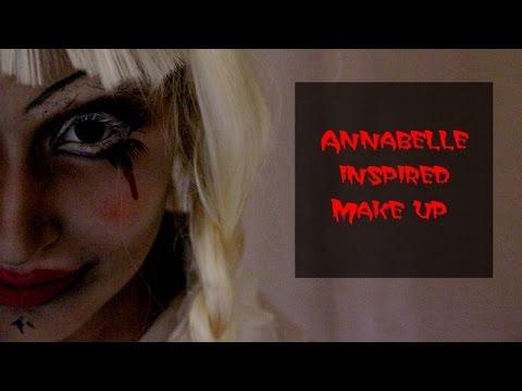 [ HALLOWEEN EDITION ] Maquillage Poupée maléfique (inspiré de la poupée Annabelle-The Conjuring)