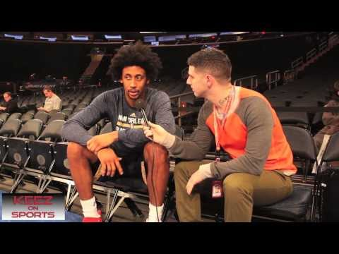 New Orleans Pelicans guard Josh Childress talks kicks with Keez on Sports