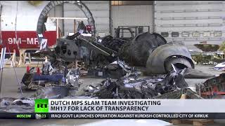 Still no answers: Dutch MPs slam team investigating MH17 for lack of trasparency - RUSSIATODAY