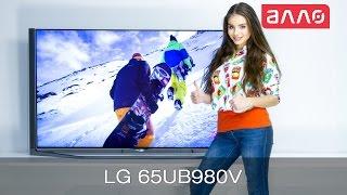 Видео-обзор телевизора LG 65UB980V