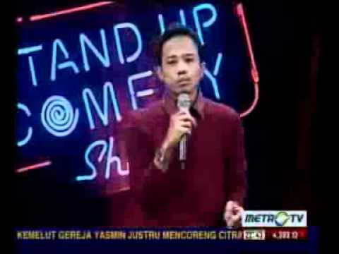ACHO - Stand up comedy show @ metro tv 15 feb 2012