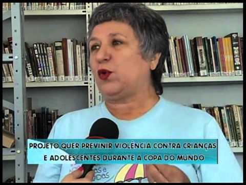 Projeto quer prevenir violência contra crianças na Copa - Repórter Brasil (manhã)