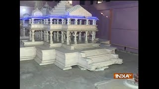 Exclusive visulas of Ayodhya's Ram temple model - INDIATV
