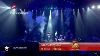 India' Raw Star Promo: Darshan Raval at the grand opening concert! - STARPLUS
