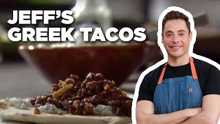 Jeff's Greek Taco Recipe | Food Network - FOODNETWORKTV