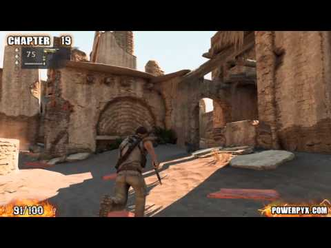 Uncharted 3 - All Treasure Locations (Part 4)