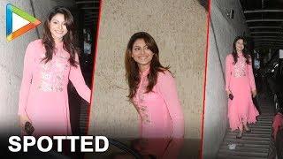 "Urvashi Rautela Spotted Outside Sanjay Dutt's House   ""Hate Story 4"" Movie Actress - HUNGAMA"