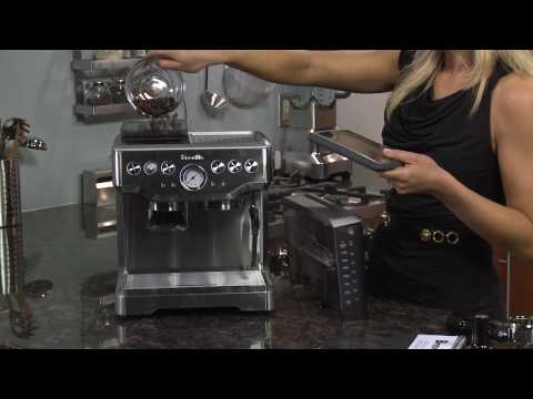 Out of the Box Breville Barista Express BES860XL
