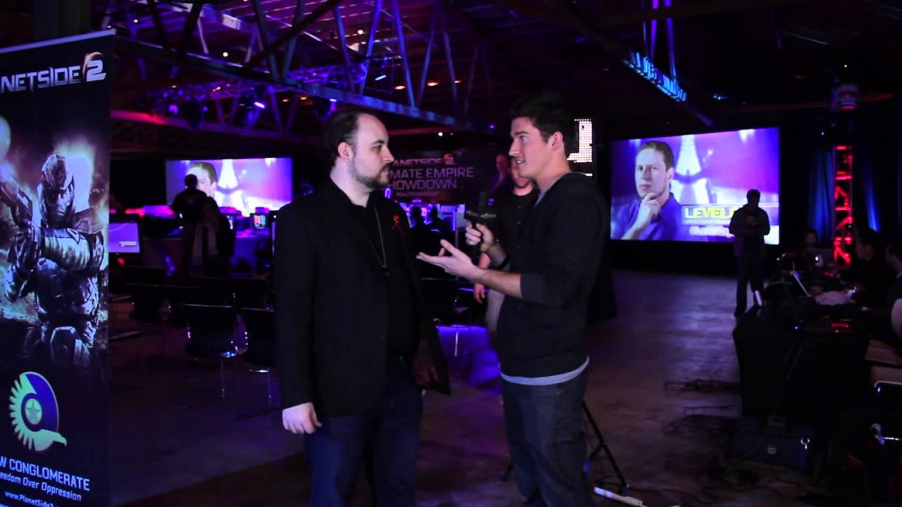 PlanetSide 2 Ultimate Empire Showdown - Total Biscuit Pre-Game Interview