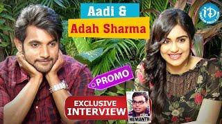 Garam Movie || Aadi And Adah Sharma Exclusive Interview - Promo || Talking Movies With iDream - IDREAMMOVIES
