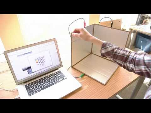 Weekend Projects – A Touchless 3D Tracking Interface