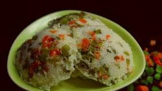 Vegetable Idli ..