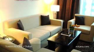 Towers Rotana Hotel in Dubai, United Arab Emirates view on youtube.com tube online.