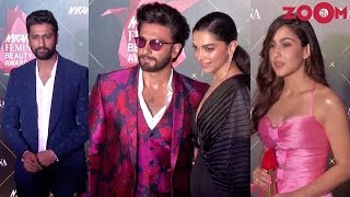 Deepika, Ranveer, Vicky, Sara & others attend Femina Beauty Awards 2019 - ZOOMDEKHO