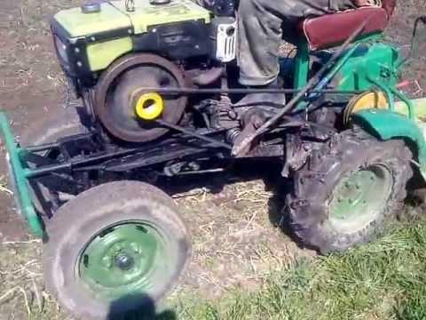 Как сделать трактор из мотоблока зубр своими руками