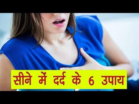 सीने में दर्द का इलाज - Seene me dard ka gharelu ilaj in hindi