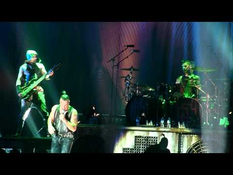 "Rammstein -""Sehnsucht "" Budapest 2011-11-10 HD"